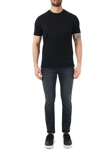 Hugo Boss  Pamuklu Extra Slim Fit Jeans Erkek Kot Pantolon 50447017 010 Füme